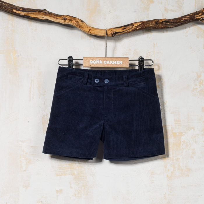 NAVY SHORT TENESIS