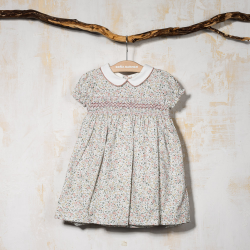 SMOCKED DRESS TIROL