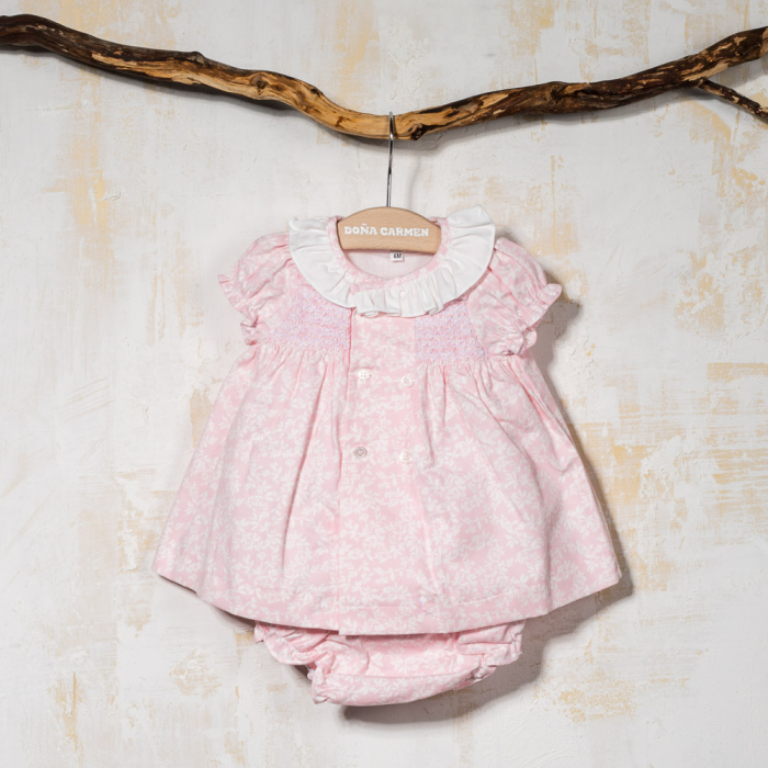 SMOCKED DRESS RAMAJE