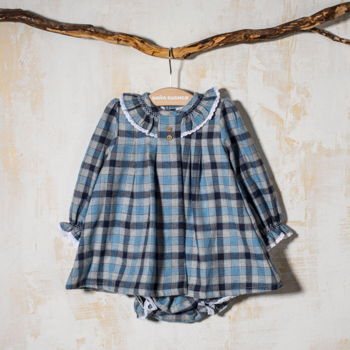 GIRL DRESS  WITH BLOOMERS ALASKA