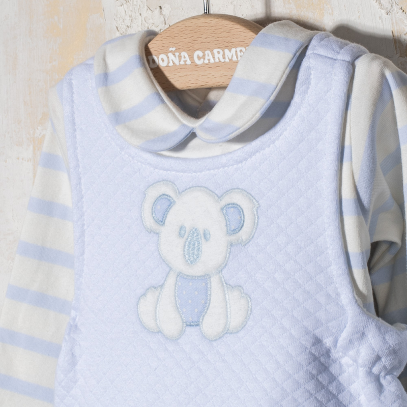 BOY SET DUNGAREE KOALA