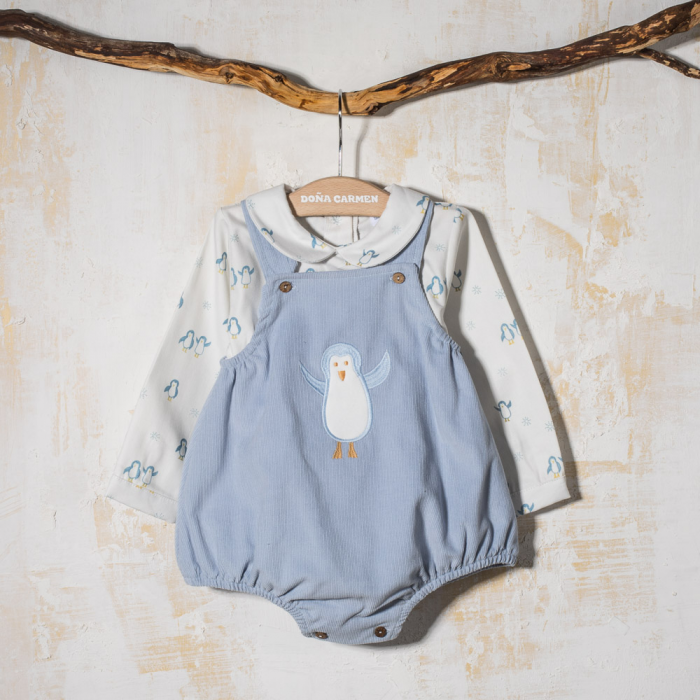 BABY ROMPER  DUNGAREE TOMY