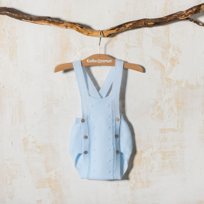 KNITTED DUNGAREE BODOQUE