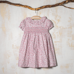 SMOCKED DRESS  ZAHIRA