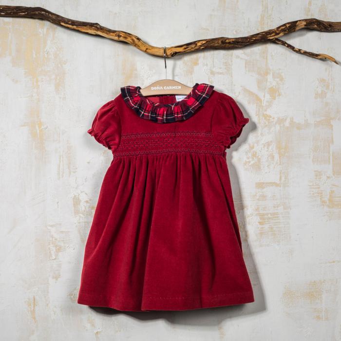 SMOCKED DRESS CUENCA