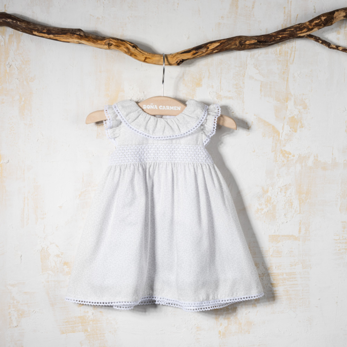 SMOCK BABY DRESS WINTER