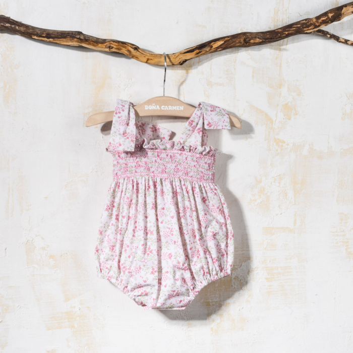 BABY ROMPER WITH STRAPS CRIS