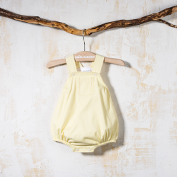BABY ROMPER WITH STRAPS PARAISO