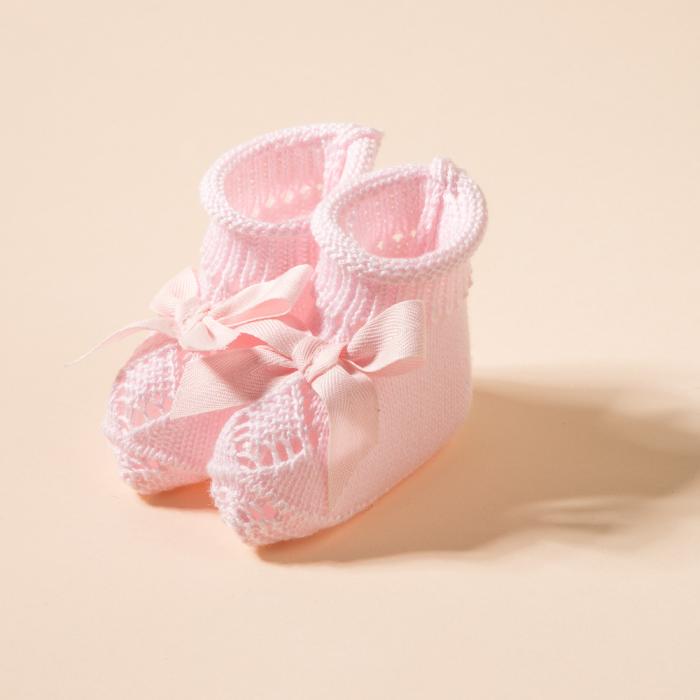 PINK BABY BOOTIES CASPER