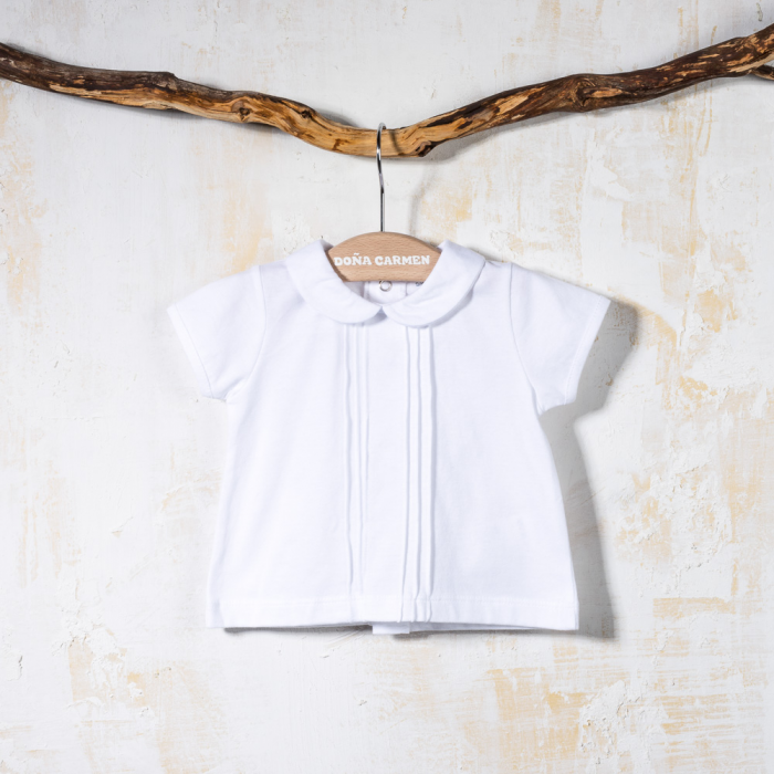 COTTON SHORT SLEEVE SHIRT BEBÉ