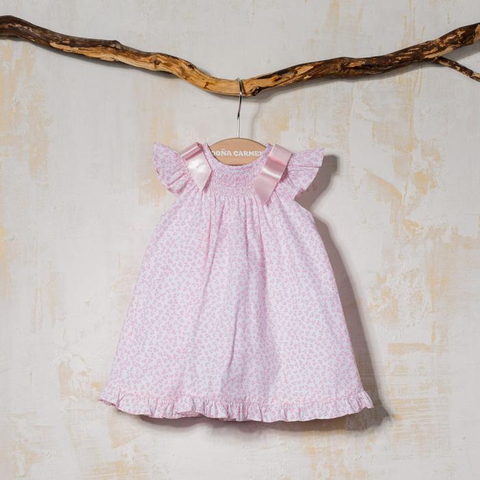 SMOCKED BABY DRESS RAMITA