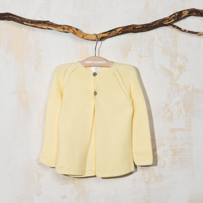 YELLOW CARDIGAN CUEVA