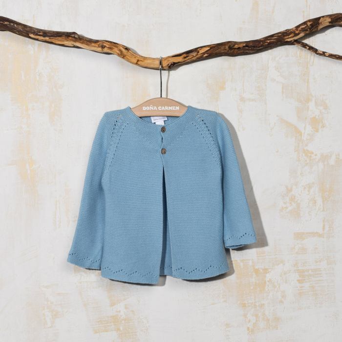 BLUE CARDIGAN CUEVA