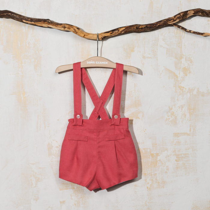 SHORT WITH STRAPS LINO