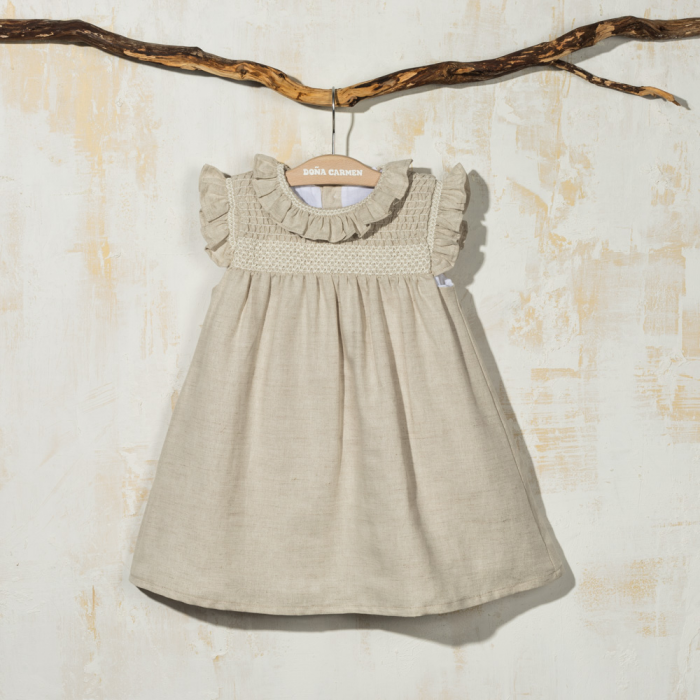 SMOCKED DRESS AMAYA