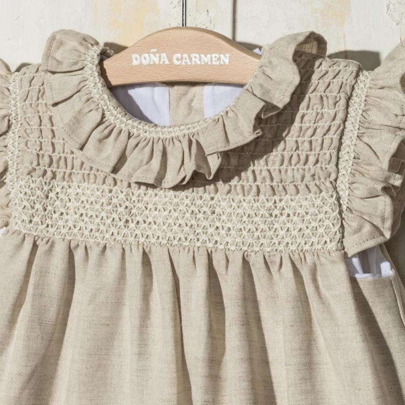 SMOCKED DRESS AMAYA