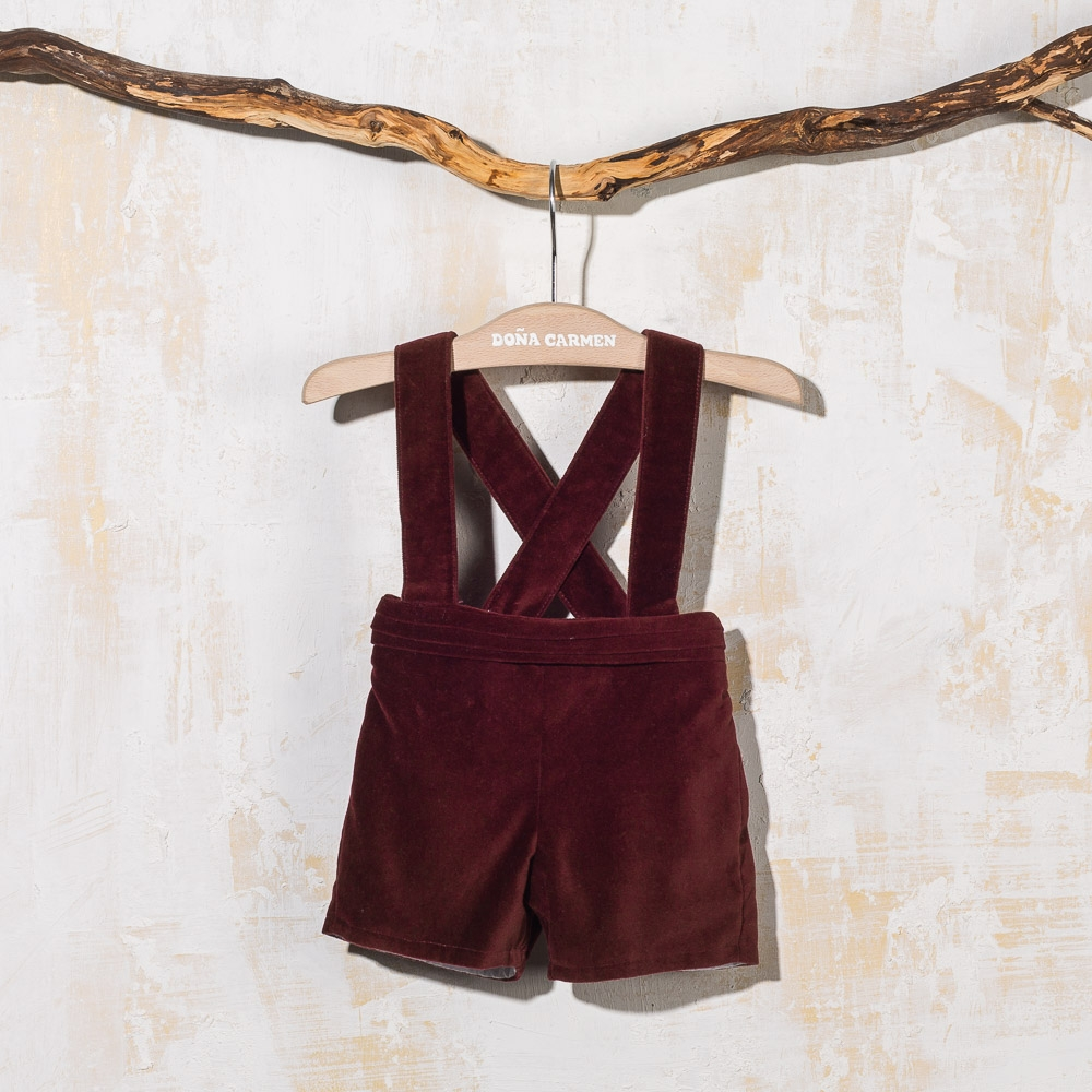 SHORT WITH STRAPS TER