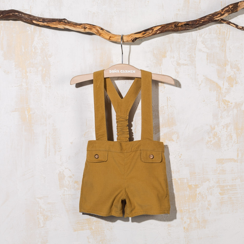 SHORT WITH STRAPS ROSCO