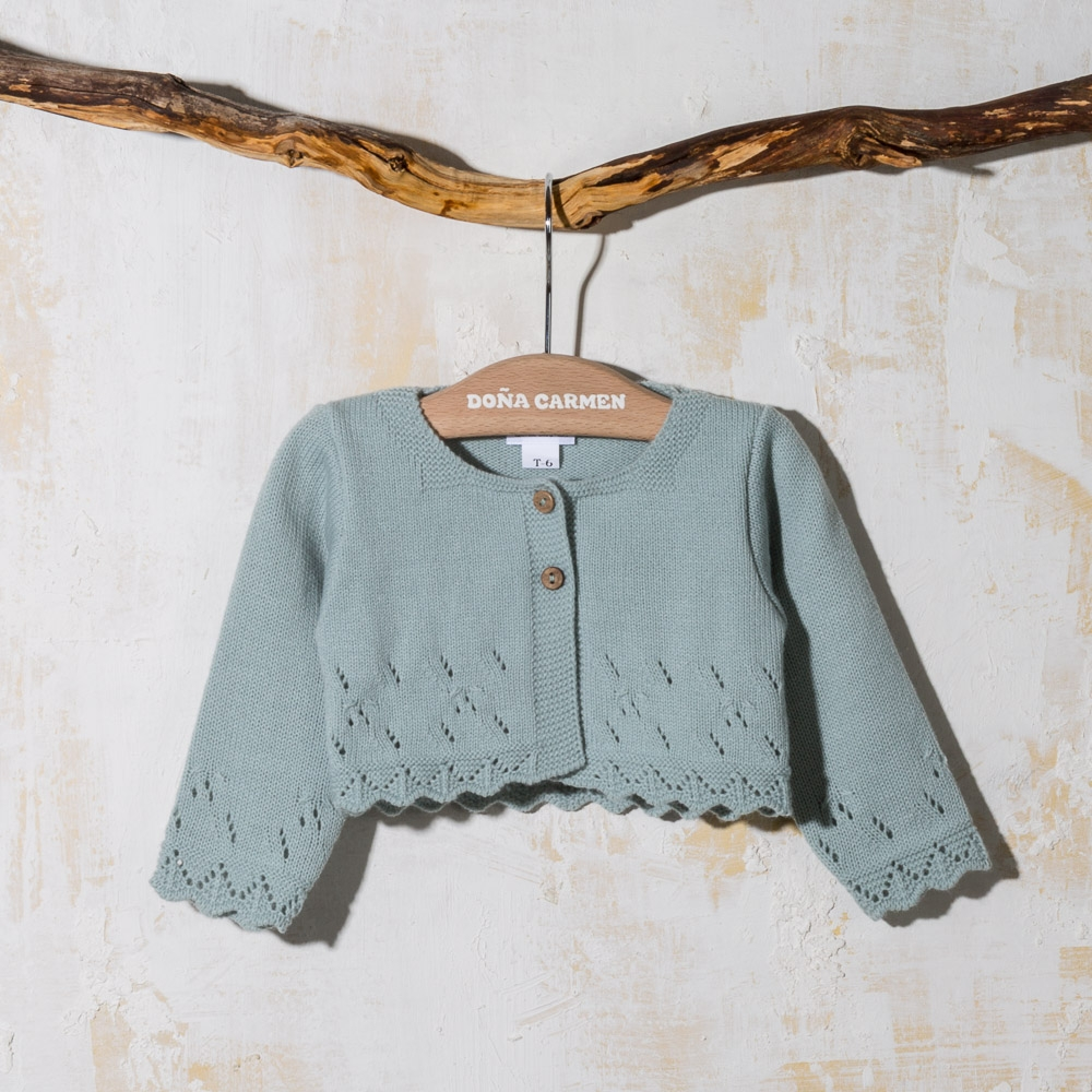 KNITWEAR CARDIGAN LOTUS