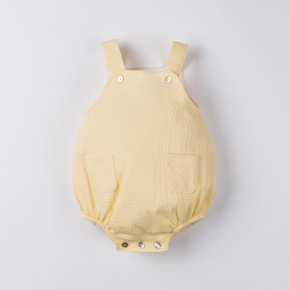 BABY ROMPER WITH STRAPS SOL