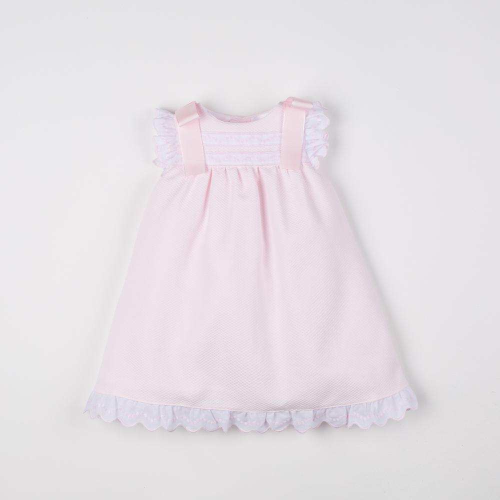 PINK BABY DRESS CANESÚ