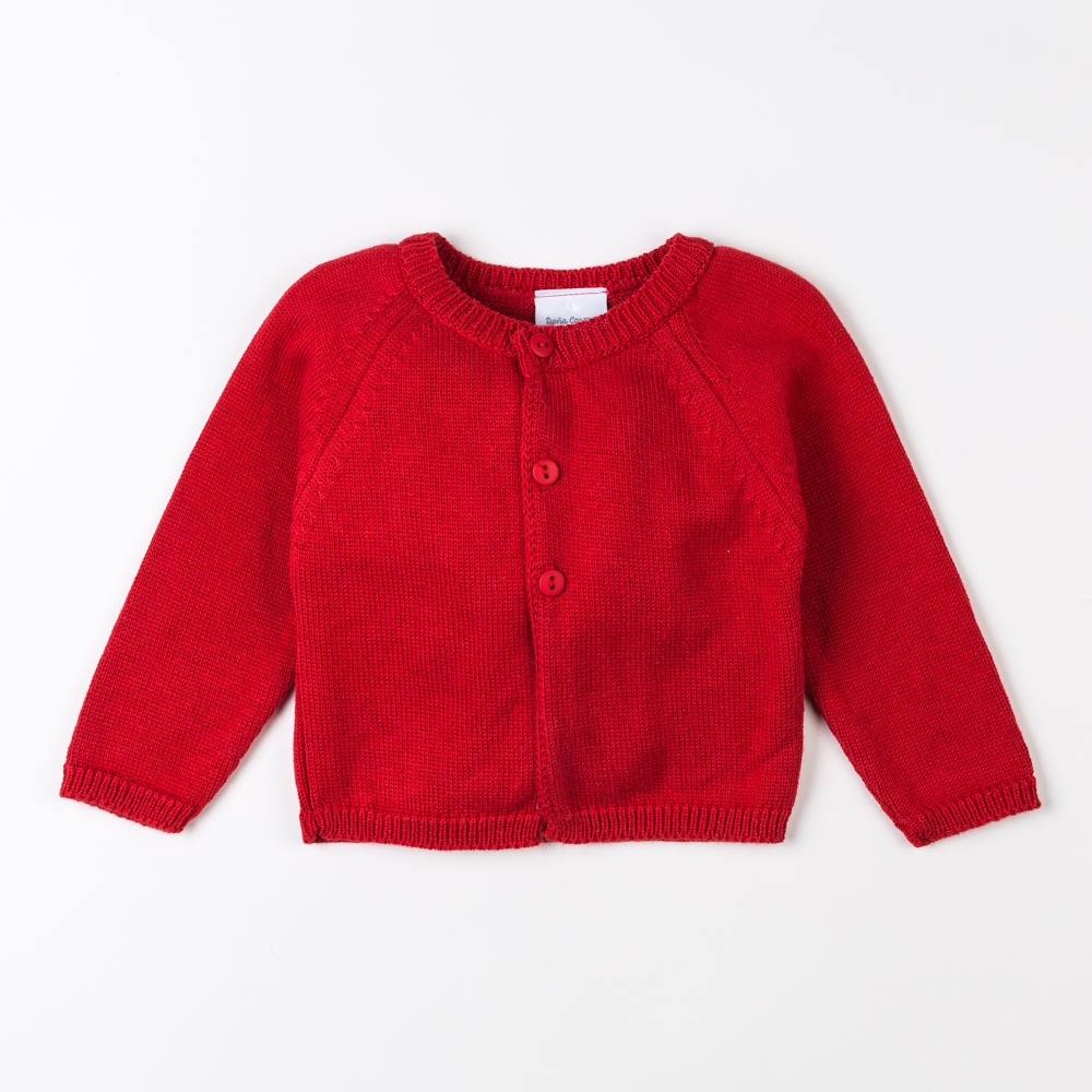 RED CARDIGAN LONDRES