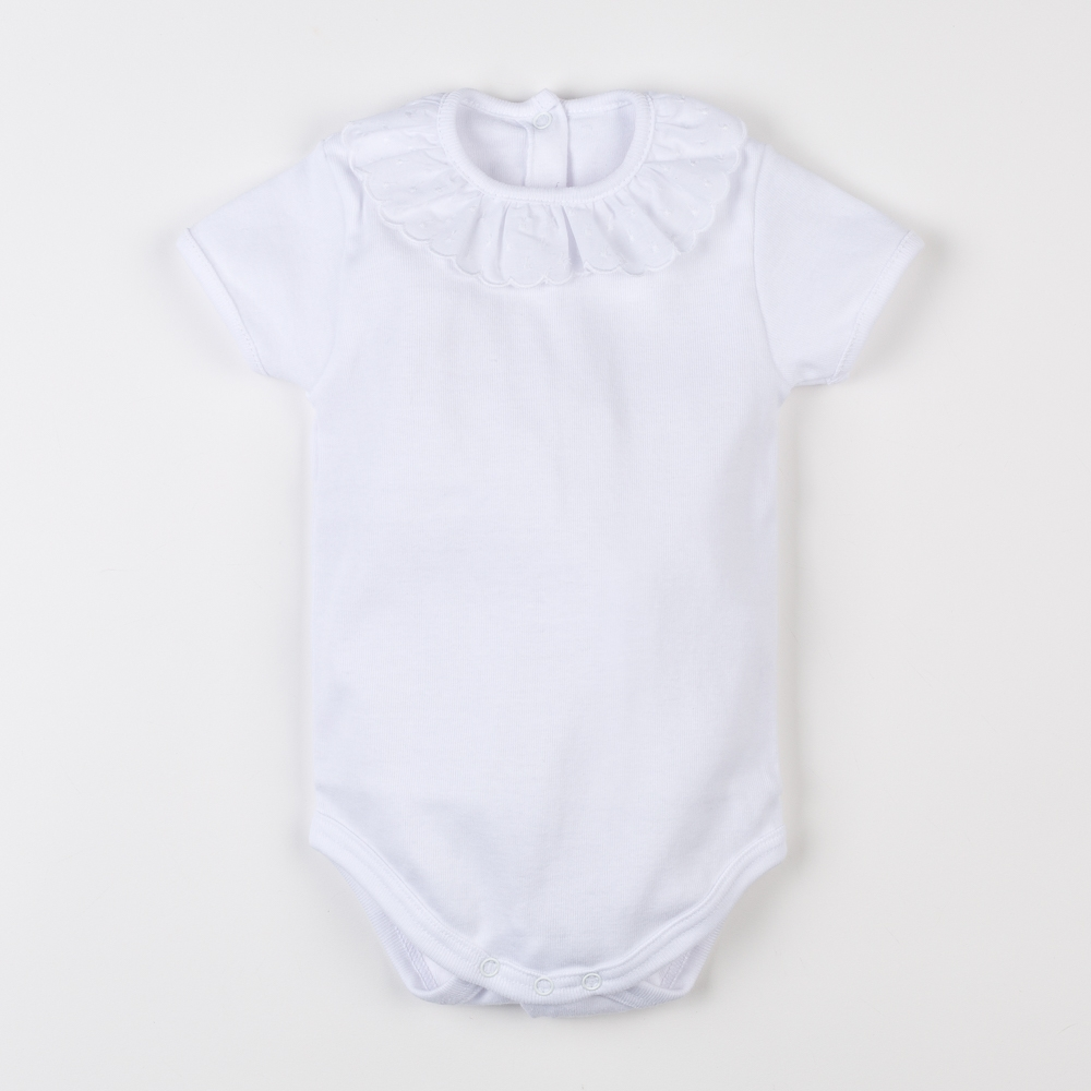 COTTON BABY SHORT SLEEVED...