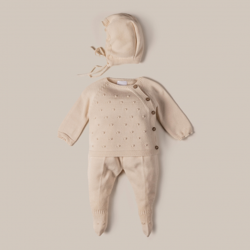 BABY 3 PIECES SET CRUCE
