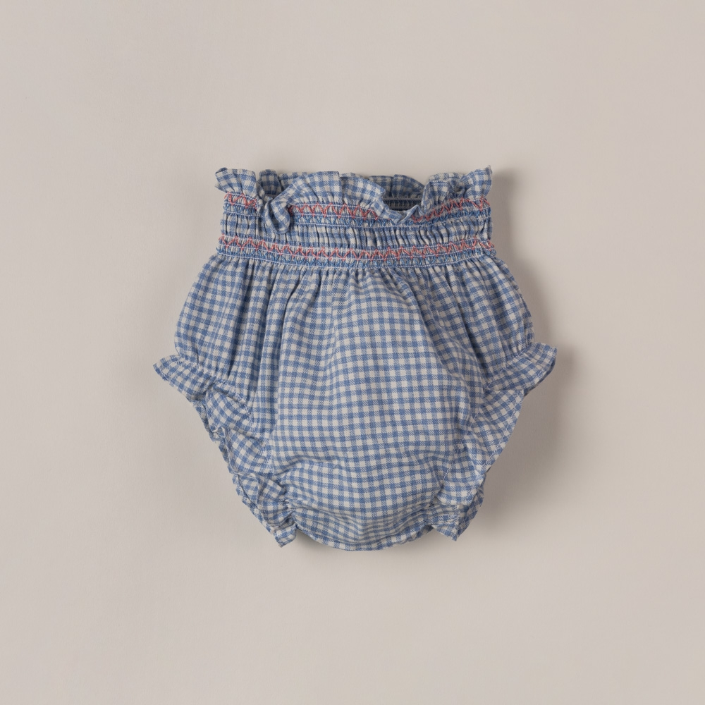 BLOOMERS WITH SMOCK DETAILS...