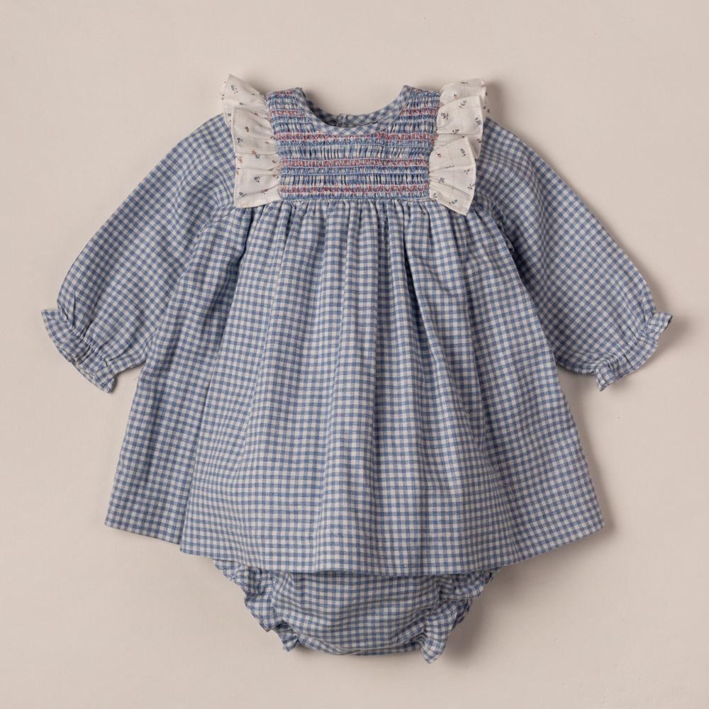 DRESS AND BLOOMERS SET WITH...