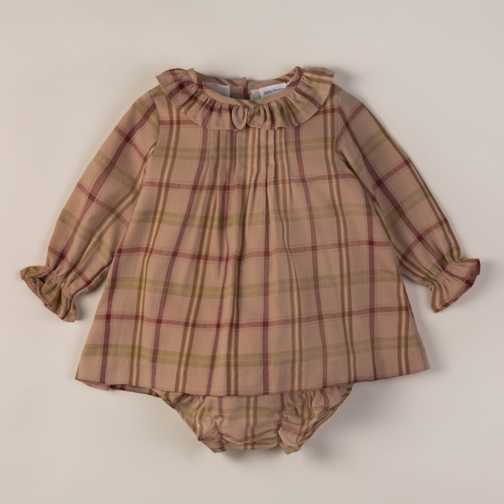 DRESS AND BLOOMERS SET PINPOINT