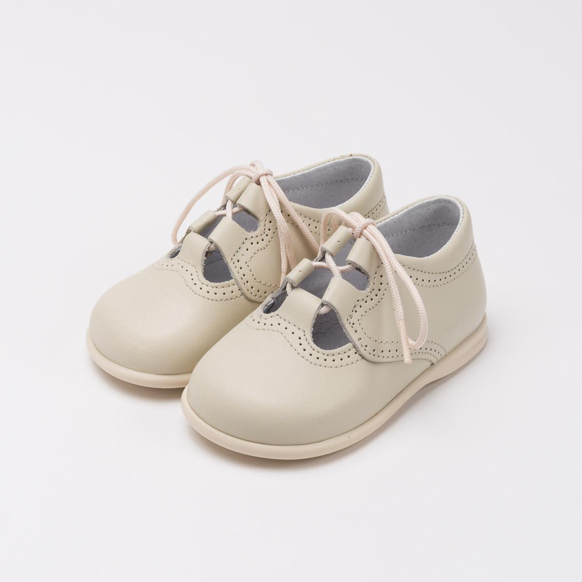 818f9945d zapatos inglesitos beige