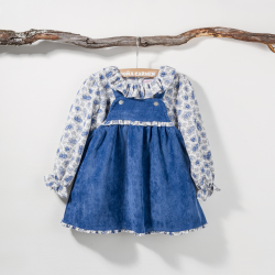 PINAFORE DRESS POLEO
