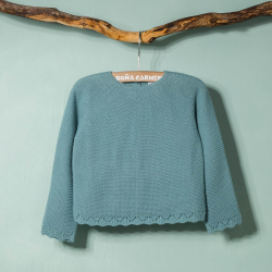 GREEN WOOLEN SWEATER  LIBRO