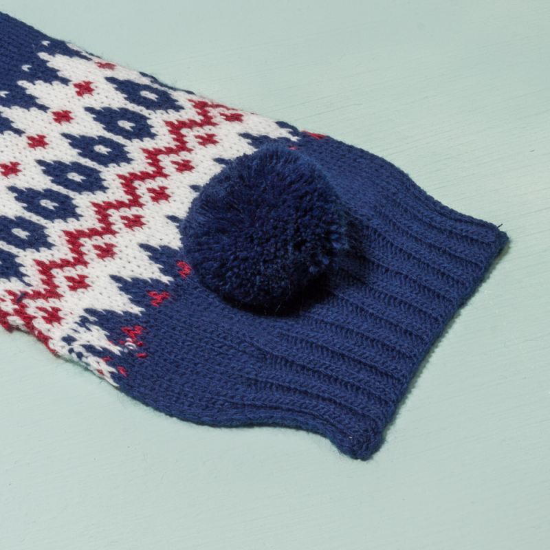 BEANIE, SCARF AND GLOVES SET CONDE