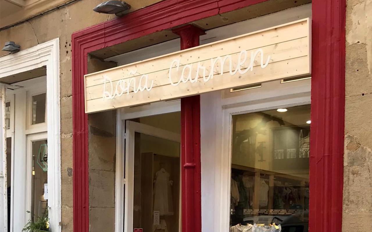 exterior tienda San Sebastian